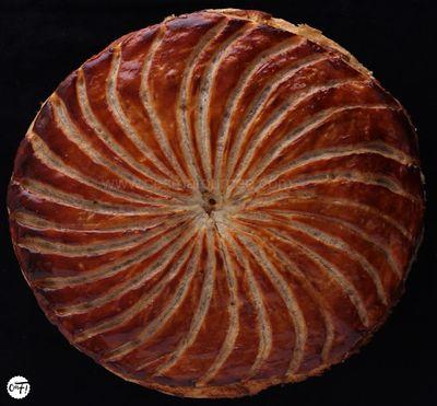 La galette des rois à l'ananas rôti et à la noix de coco de Pierre Hermé