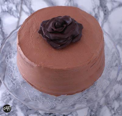 """Layer Cake"" au chocolat"