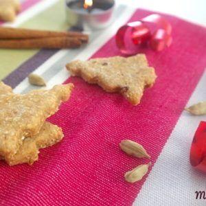 Biscuit aux épices à la cannelle et cardamome