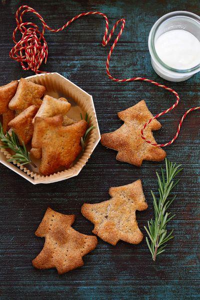 Crackers au yaourt et au fromage