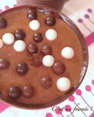 Mousse au chocolat Michalak dans ses gobelets tout choco