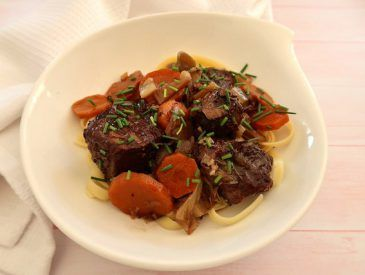 Boeuf aux carottes (cuisson au multicuiseur)