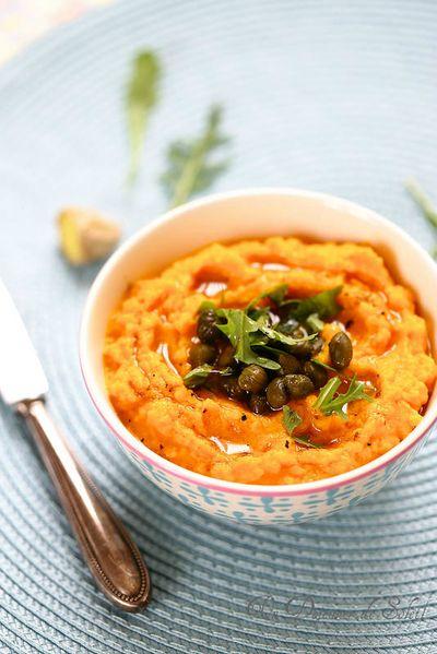 Caviar de carottes aux gingembre, tartinade ou dip