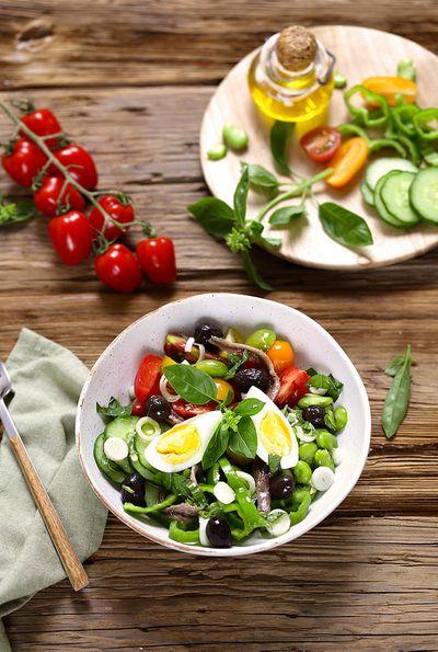 Salade niçoise, la véritable recette