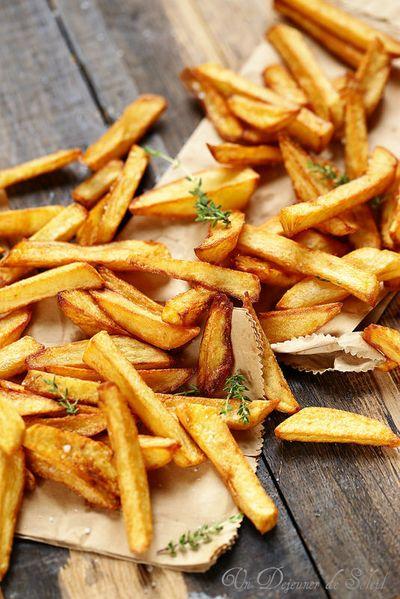 Frites de pommes de terre