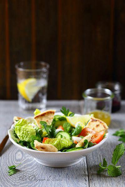 Salade fattouch
