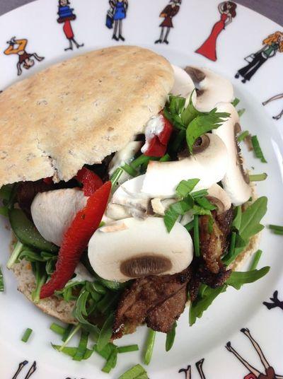 Kebab d'agneau maison