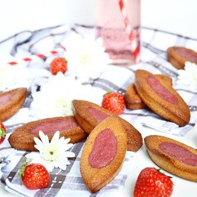 """Barquettes façon """"Lu"""" à la fraise"""