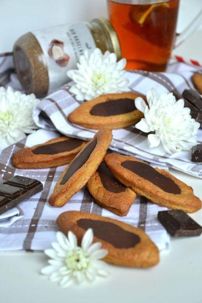 "Barquettes façon ""Lu"" au chocolat"