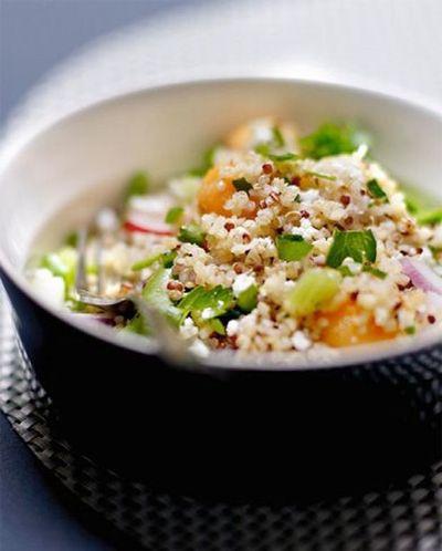 Salade croquante au quinoa