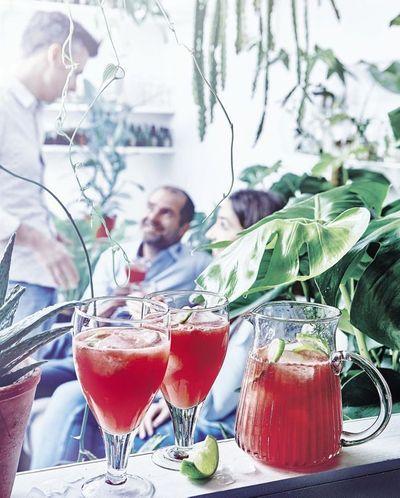 Cocktail pastèque fizz
