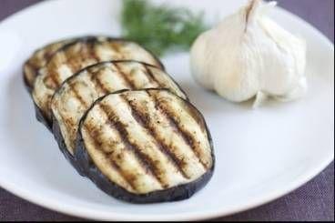 Aubergine grillée au barbecue