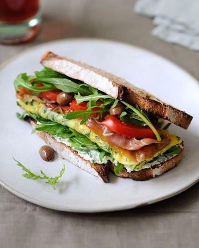 Sandwich roquette