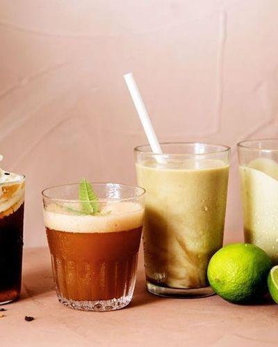 Milkshake café et avocat