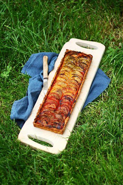 Tarte à la tomate au Bouillon Le Provençal
