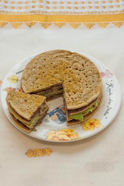 Gâteau de Galettes de Pois Chiche sans gluten
