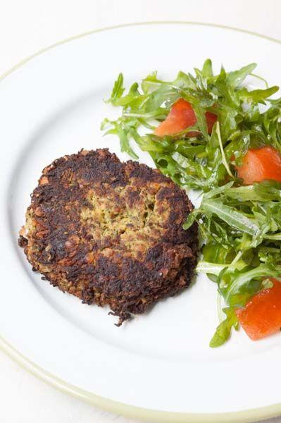 Steak végétal épinard-courgette