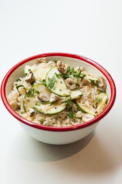 Salade de Riz Kerala à la Courgette