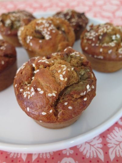 Muffin foie gras et pain d'épices (au robot cuiseur)