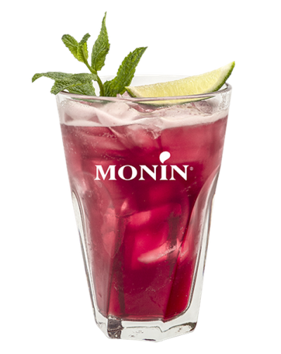 Cocktail Barbe à Papa Gin, Monin