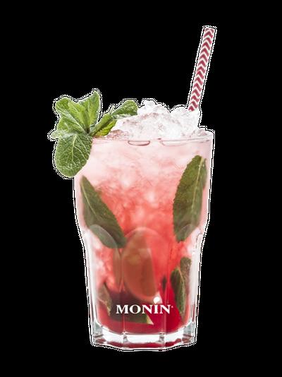 Virgin Mojito Fraise Falernum, Monin (sans alcool)
