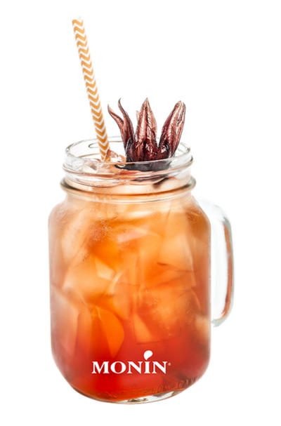 Mocktail Orange Spritz Hibiscus, Monin (sans alcool)