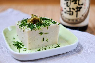 """Gomadofu (""""Tofu"""" de sésame)"""