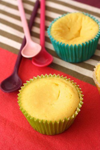 Cheesecake en forme de cupcake