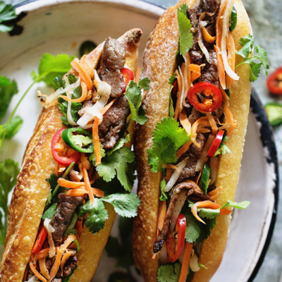 Banh Mi, 2 sandwichs vietnamiens ultra frais !