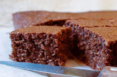 Gâteau au chocolat à la noix de coco