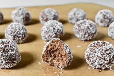 Boules au chocolat suédoises / Chokladbollar (vegan)