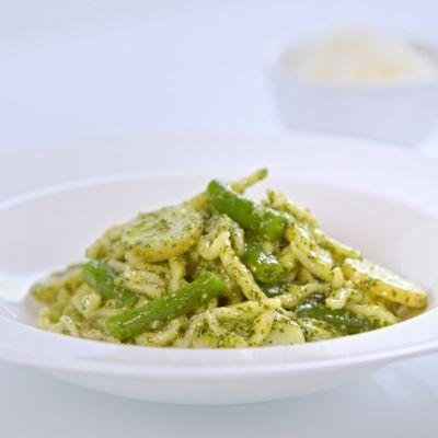 Trofie au pesto, recette typique de la Ligurie
